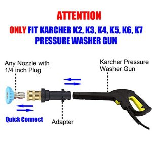 Karcher K to 1/4 Inch Quick Connect Adapter