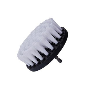 Drill Brush soft For leather seats 4″