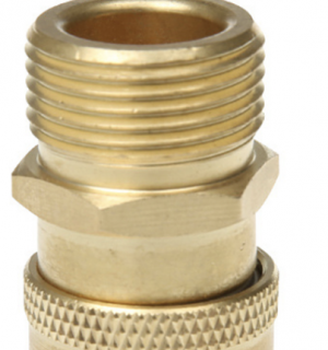 Male M22 to Female 1/4 QC Adapter (15mm)