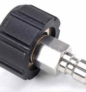 Female M22 to Male 3/8 Quick Connect Adapter