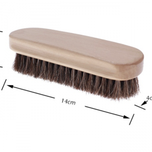 Horsehair Leather Cleaning Brush
