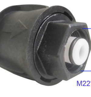 Gerni to M22 Adapter for short gun conversion (click-in)