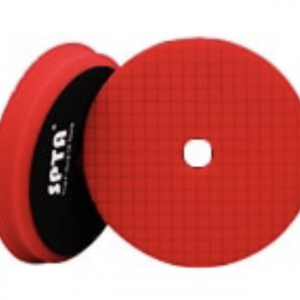 5″ Wax/Polishing Pad – Red  Open Cell