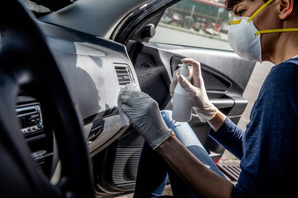 Cleaning & Disinfecting Car Interiors