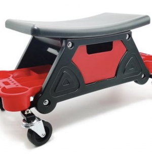 Detailing Seat With 4 Roller Wheels
