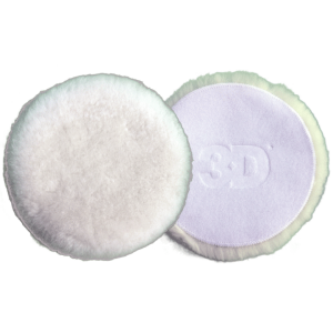 3D 3″ White Wool Pad – 2 Pack