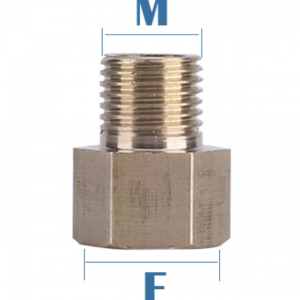 M14 1.5mm Female to 1/4 Male